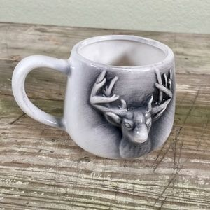 Idaho gag coffee mug deer buck cup two-turds full